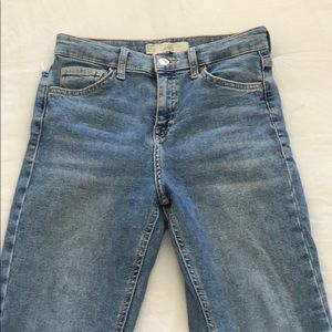 Jamie jeans from Top Shop